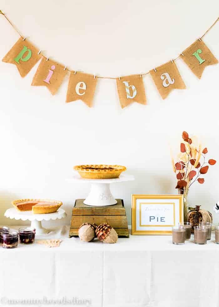 Pie Dessert Table Ideas | Mommyhood's Diary