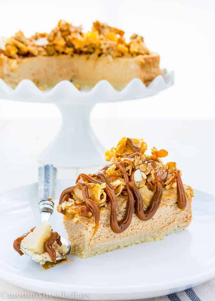 Eggless Dulce de Leche Cheesecake-14