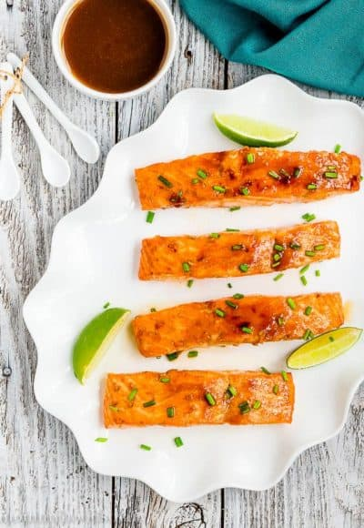Skinny Glazed Salmon | Mommyhood's Diary