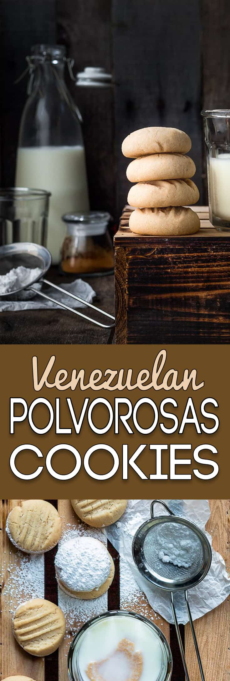 These classic Venezuelan Polvorosas Cookies are always a big hit. Easy to make, easier to eat! They're absolutely the BEST! https://mommyshomecooking.com