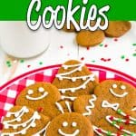 Eggless Gingerbread Cookies | Mommyhood's Diary