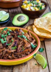 Slow Cooker Spicy Pork Carnitas | Mommy's Home Cooking