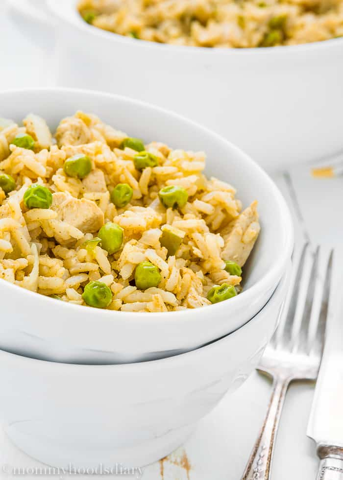 Easy Skinny Arroz con Pollo-4