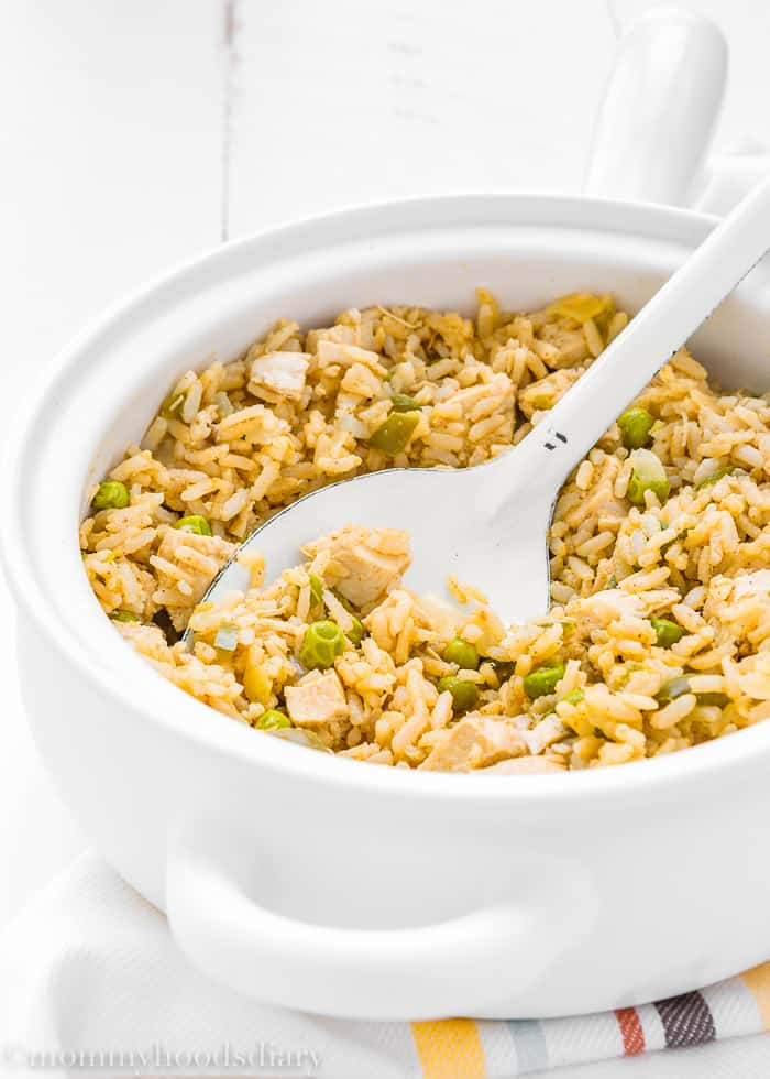 Easy Skinny Arroz con Pollo-5