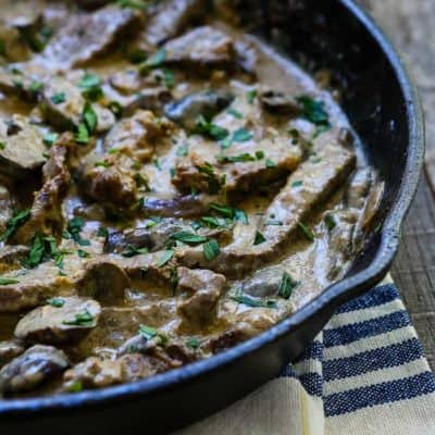 Easy Beef Stroganoff | Mommyhood's Diary