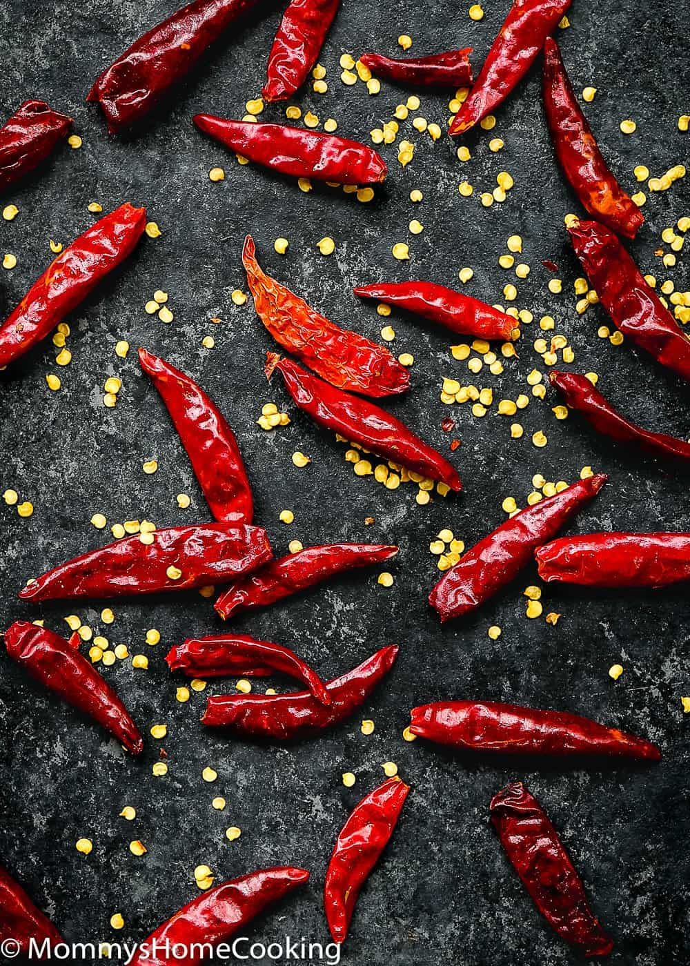 spicy chilis to make Kung Pao  sauce