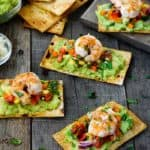 Mexican Crispy Shrimp Bruschetta | Mommyhood's Diary