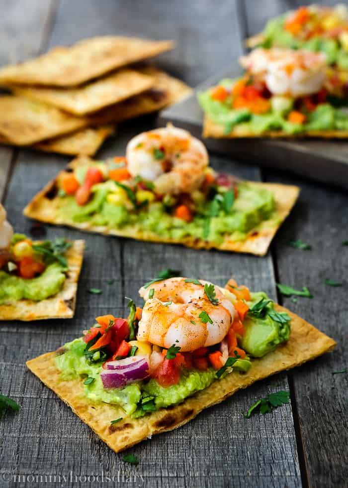 Mexican Crispy Shrimp Bruschettas-2