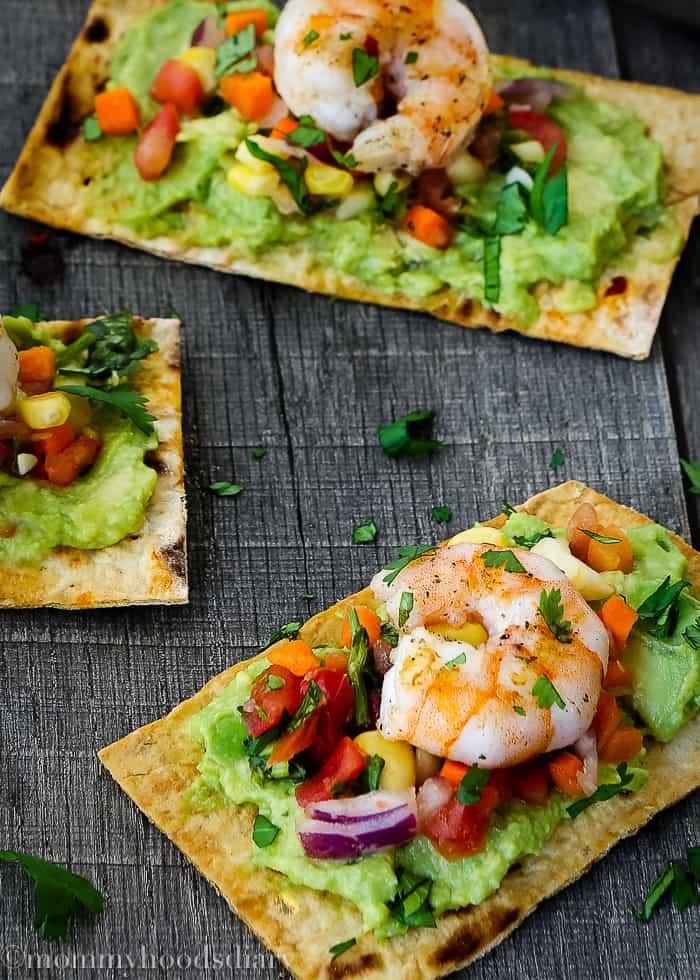 Mexican Crispy Shrimp Bruschettas-5