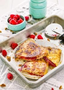 Sweet Raspberry Chocolate Chip Quesadilla | Mommyhood's Diary