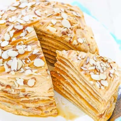 Dulce de Leche Crepe Cake | Mommy's Home Cooking