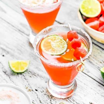 Watermelon Summer Splash Cocktail