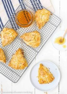 Honey Bacon Cheddar Scones | Mommy's Home Cooking