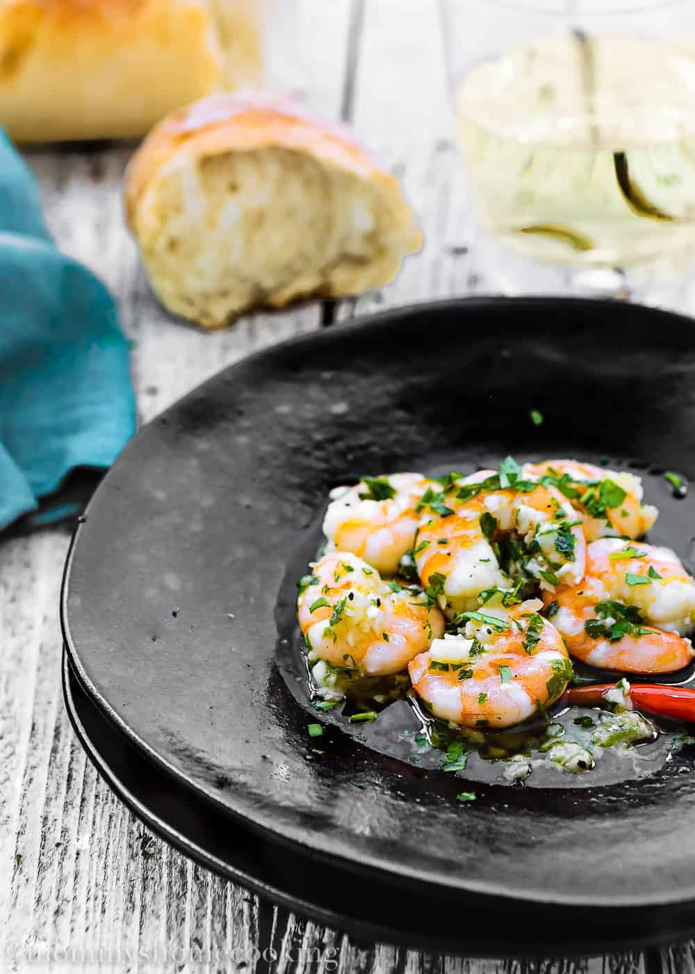 Spanish Style Garlic Shrimp   Mommy's Home Cooking