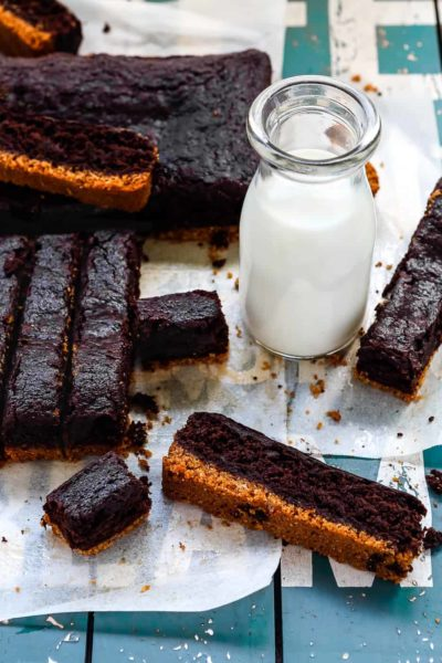 Eggless Brownies Sticks   Mommy's Home Cooking
