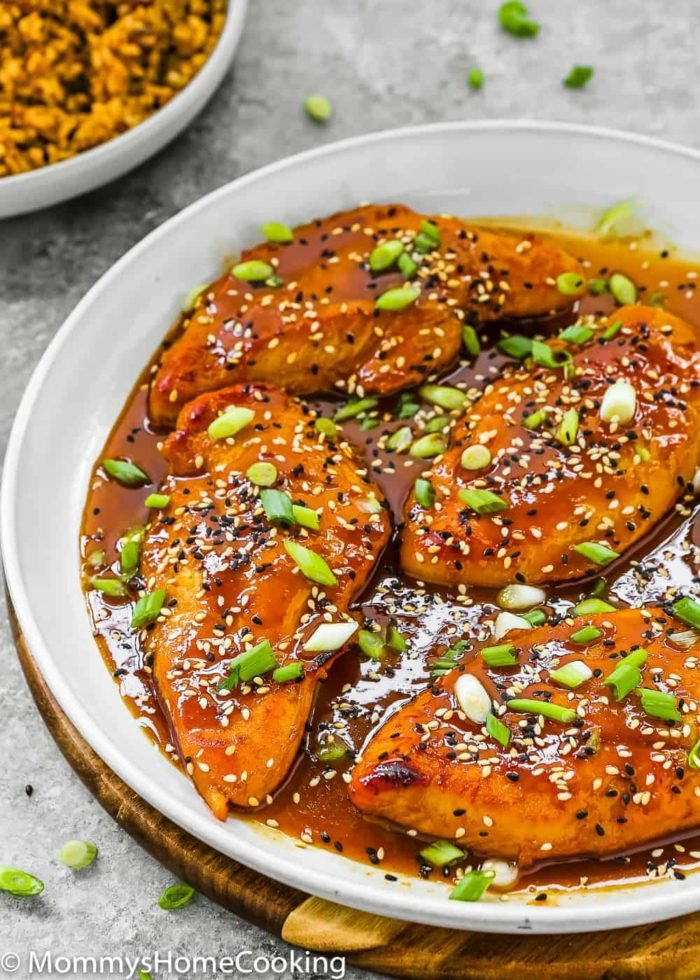 Easy Asian Style Chicken Breasts