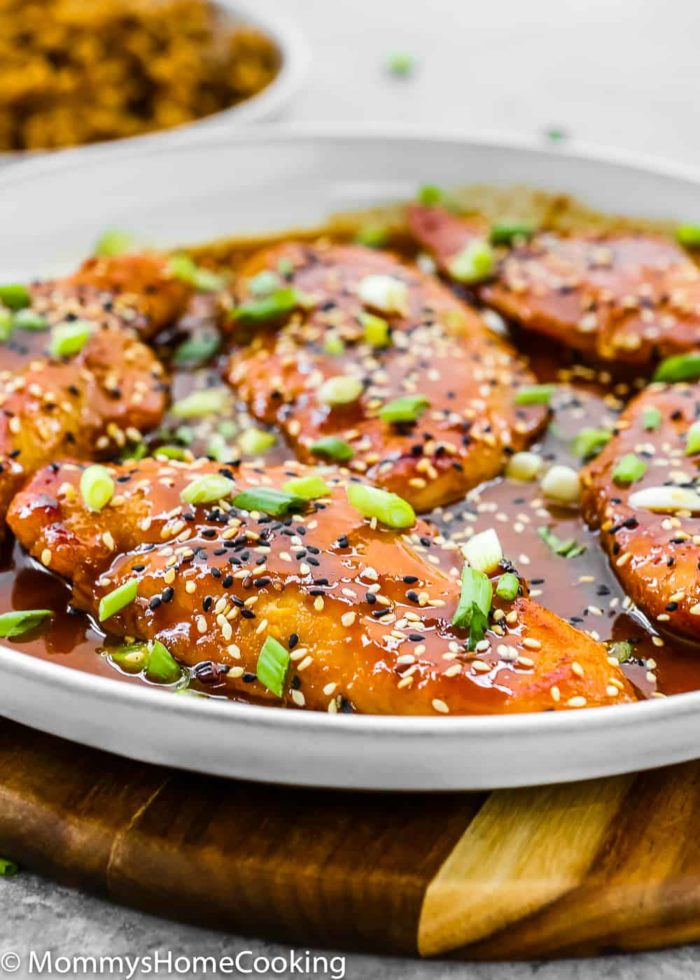 Easy Asian-Style Chicken Breasts-8