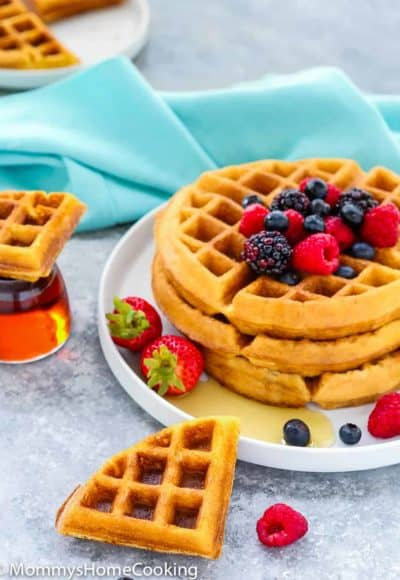 Eggless Waffles | Mommy's Home Cooking