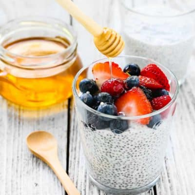 Honey Coconut Chia Pudding