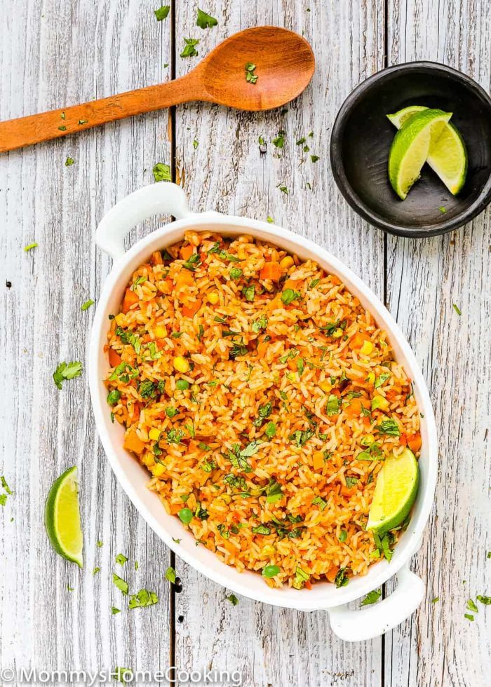 Easy Mexican Rice - Mommy's Home Cooking