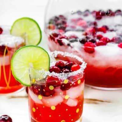 Roasted Cranberry Margarita [Video]