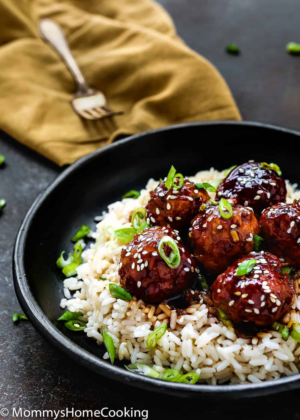 Instant Pot Teriyaki Turkey Meatballs | Mommy's Home Cooking