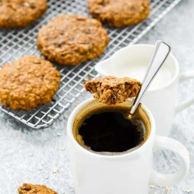 Eggless Oatmeal Breakfast Cookies