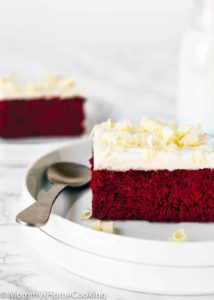 Eggless Red Velvet Brownies