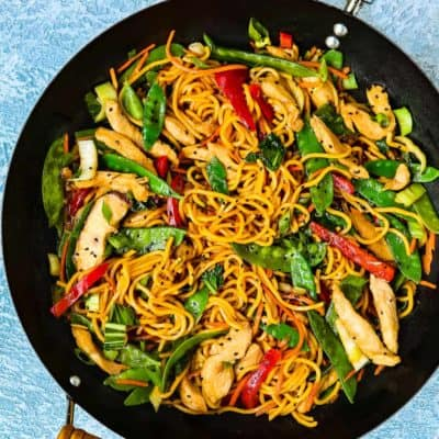 Easy Chicken Lo Mein | Mommy's Home Cooking