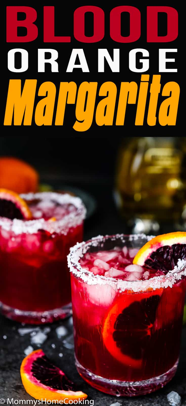 ThisBlood Orange Margarita is a gorgeous and delicious cocktail perfect for celebrating just about anything. It's refreshing, sweet, and full of citrusy flavor. If you make this, expect plenty of requests for more. #cocktail #margarita #bloodorange #easy #holidays #winter