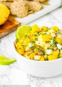 Fennel Mango Salsa | Mommy's Home Cooking