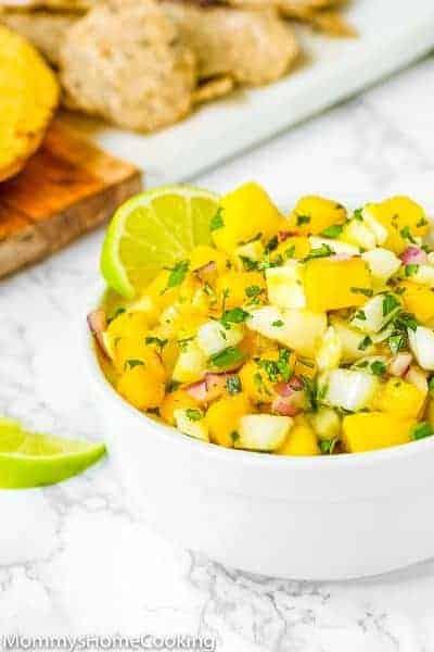 Fennel Mango Salsa