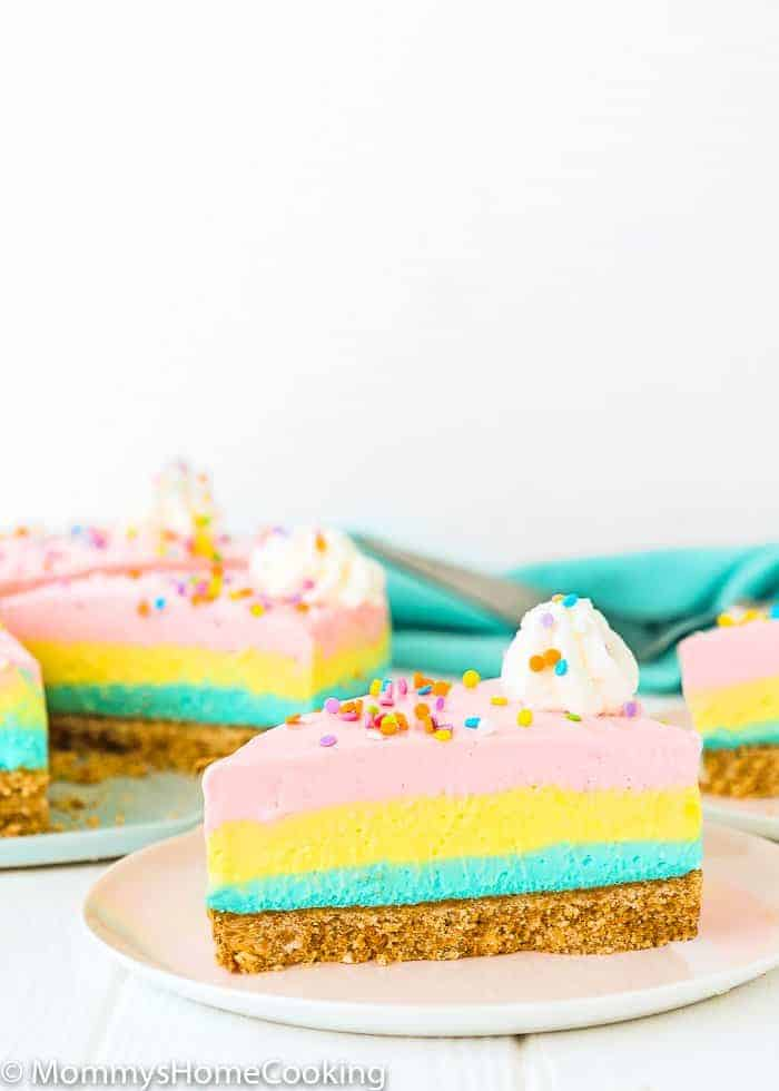 No Bake Easter Cheesecake | Mommy's Home Cooking