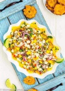 Easy Fish and Mango Ceviche | Mommy's Home Cooking