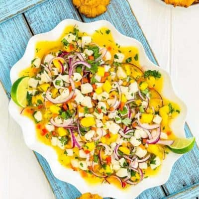 Easy Fish and Mango Ceviche
