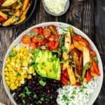 Easy Turkey Fajita Bowl | Mommy's Home Cooking