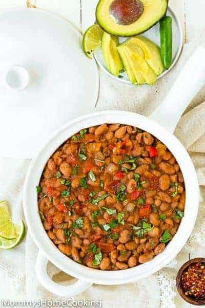 Instant Pot Drunken Beans