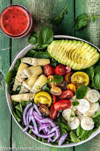 Watercress Salad with Raspberry Vinaigrette