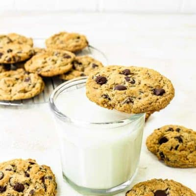 The Best Eggless Chocolate Chip Cookies