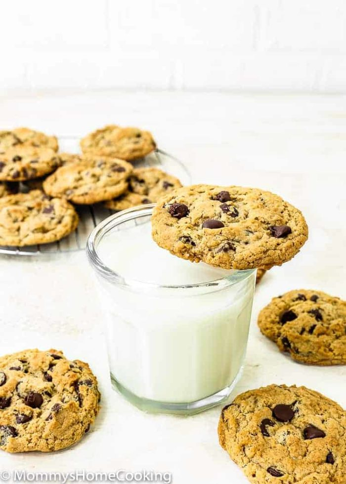 THE BEST Eggless Chocolate Chip Cookies | Mommy's Home Cooking