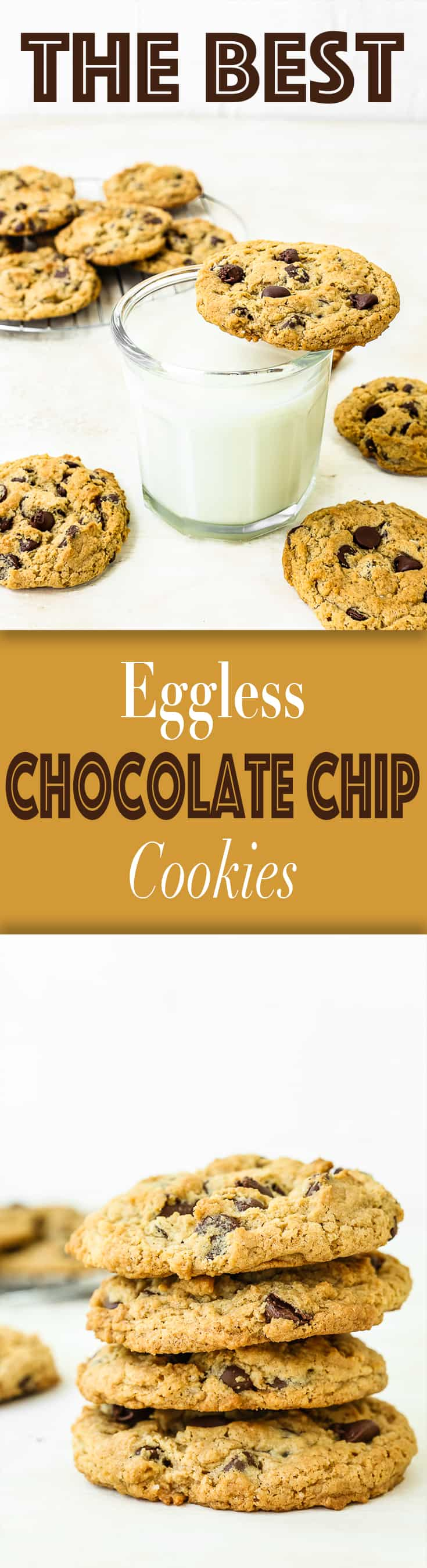 The Best Eggless Chocolate Chip Cookies - Mommy's Home Cooking