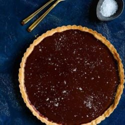 Easy Eggless Chocolate Tart   Mommy's Home Cooking