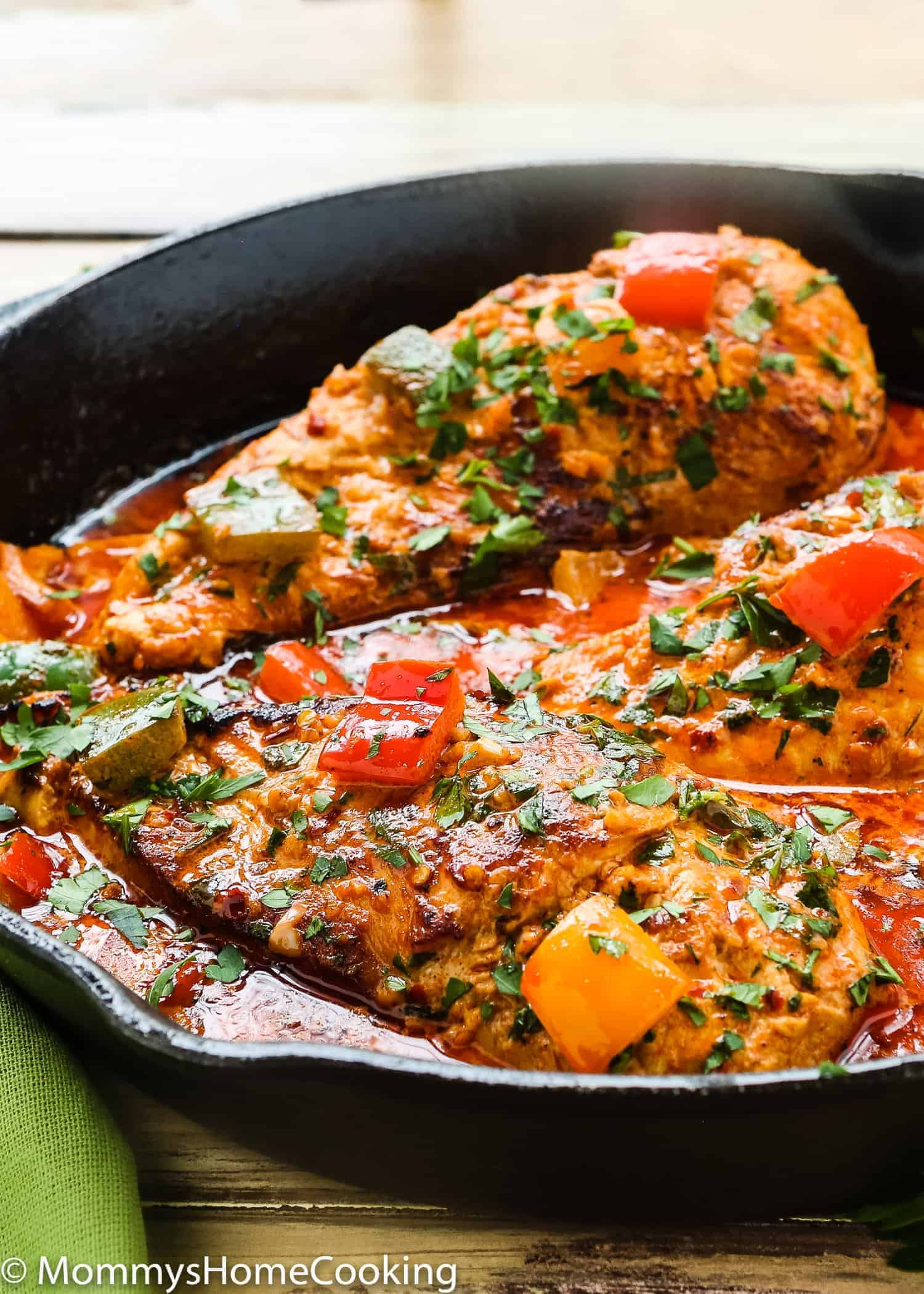 This Creamy Peri Peri Chicken is zesty, succulent, and easy to pull off. A simple weeknight dish, yet fancy enough to wow your guests at any gathering. https://mommyshomecooking.com
