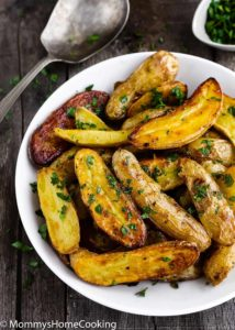 Easy Garlic Lemon Roasted Potatoes