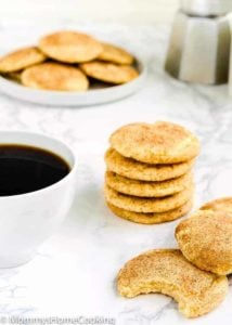 Eggless Snickerdoodle Cookies | Mommy's Home Cooking