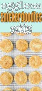 Eggless Snickerdoodle Cookies   Mommy's Home Cooking