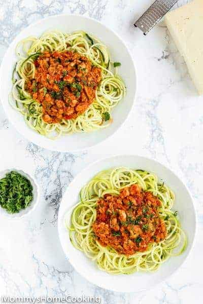 Easy Tuna Ragu [Keto and Whole 30 Friendly]