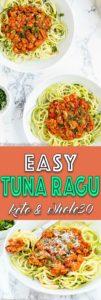 Easy Tuna Ragu   Mommy's Home Cooking