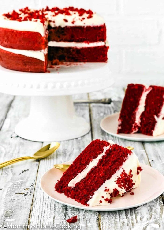 Eggless Red Velvet Cake | Mommy's Home Cooking
