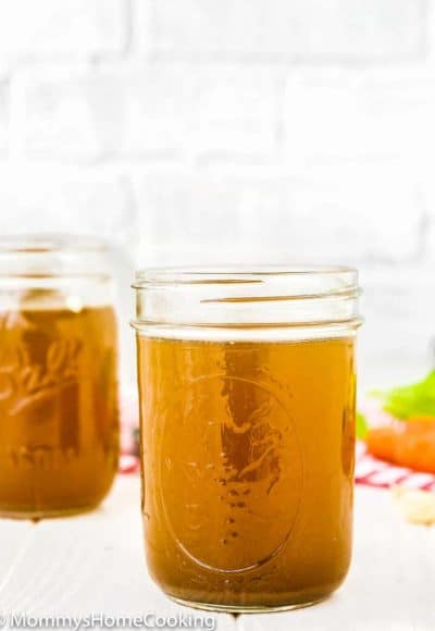 Slow Cooker Beef Bone Broth | Mommy's Home Cooking